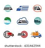 transporation symbol design... | Shutterstock .eps vector #631462544