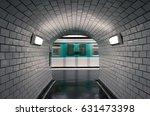 ratp underground metro station... | Shutterstock . vector #631473398