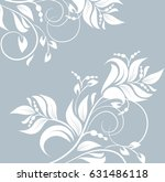 floral background with... | Shutterstock .eps vector #631486118