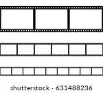 seamless film strip filmstrip... | Shutterstock .eps vector #631488236