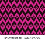 seamless black and magenta pink ... | Shutterstock .eps vector #631489703