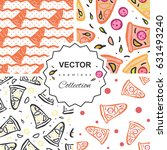 seamless pattern of italian... | Shutterstock .eps vector #631493240