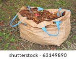 A Sack Of Dried Leaves In The...