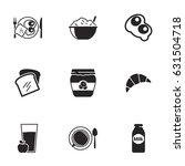icons for theme breakfast....   Shutterstock .eps vector #631504718