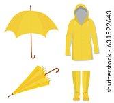vector illustration yellow... | Shutterstock .eps vector #631522643