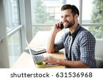 photo of young happy man in... | Shutterstock . vector #631536968