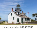 point pinos lighthouse. pacific ... | Shutterstock . vector #631539830