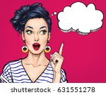 surprised young sexy woman with ...   Shutterstock . vector #631551278