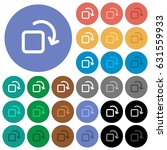 rotate element multi colored...   Shutterstock .eps vector #631559933