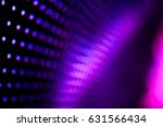 abstract led wall background  | Shutterstock . vector #631566434