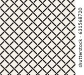 seamless woven stripes lattice... | Shutterstock .eps vector #631568720
