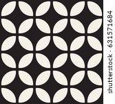vector seamless black and white ... | Shutterstock .eps vector #631571684