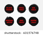 set of stickers super big final ... | Shutterstock .eps vector #631576748