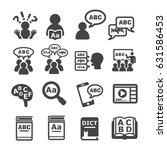 language icon | Shutterstock .eps vector #631586453