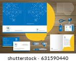 folder template design for... | Shutterstock .eps vector #631590440