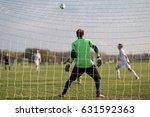 soccer goalie | Shutterstock . vector #631592363