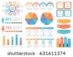 set of infographic element  ... | Shutterstock .eps vector #631611374
