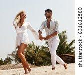 romantic couple | Shutterstock . vector #631612580