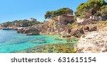 cala ratjada mallorca spain | Shutterstock . vector #631615154