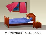 a vector illustration of boy... | Shutterstock .eps vector #631617020