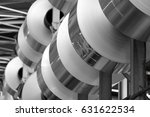 aluminum foil stacked in a... | Shutterstock . vector #631622534