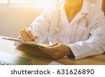 doctor working for medical exam ... | Shutterstock . vector #631626890