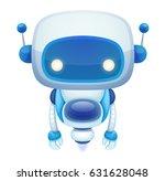 cute cartoon robot   Shutterstock .eps vector #631628048