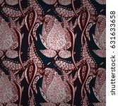 abstract vector seamless... | Shutterstock .eps vector #631633658