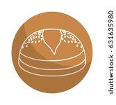 sticker delicious fresh bakery...   Shutterstock .eps vector #631635980