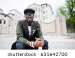 close up portrait of stylish... | Shutterstock . vector #631642700