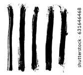 set of different grunge vector...   Shutterstock .eps vector #631646468
