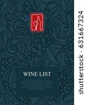 Wine Theme Design Template Wit...