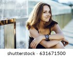 lifestyle portrait of young... | Shutterstock . vector #631671500