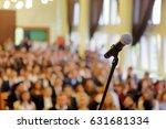 blurred background of public... | Shutterstock . vector #631681334