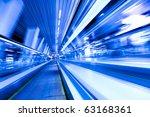 movement of diminishing hallway ... | Shutterstock . vector #63168361
