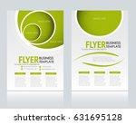 abstract flyer design... | Shutterstock .eps vector #631695128