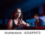 group of friends enjoying... | Shutterstock . vector #631695473