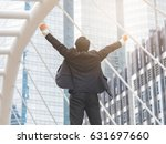 business freedom concept ... | Shutterstock . vector #631697660