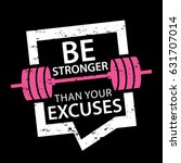 motivational quote design about ... | Shutterstock .eps vector #631707014