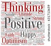 concept  conceptual positive... | Shutterstock . vector #631713659