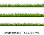 vector realistic isolated green ... | Shutterstock .eps vector #631714799