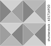 repeated grey triangles on...   Shutterstock .eps vector #631716920