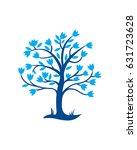 tree of life | Shutterstock .eps vector #631723628