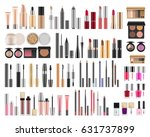 big set of different realistic... | Shutterstock .eps vector #631737899