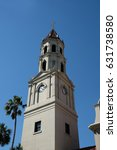Close Up Of Bell Tower Of The...