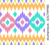 ethnic seamless colorful... | Shutterstock .eps vector #631749980
