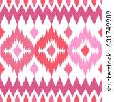 ethnic seamless pink pattern....   Shutterstock .eps vector #631749989