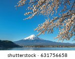 good morning mt.fuji mountain... | Shutterstock . vector #631756658