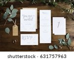 Wedding invitation cards papers ...