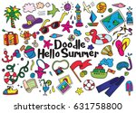 hand drawn vector illustration... | Shutterstock .eps vector #631758800